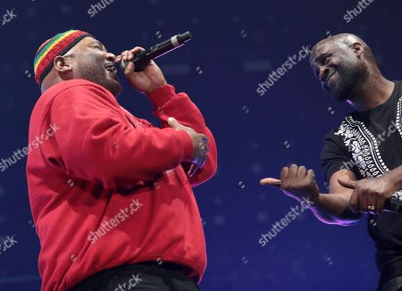 Editorial picture of Gods of Rap tour, London, UK - 10 May 2019