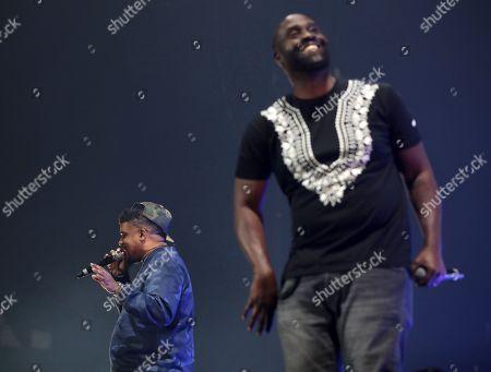 Editorial photo of Gods of Rap tour, London, UK - 10 May 2019