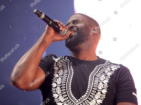 Stock Photo of Kelvin Mercer of De La Soul