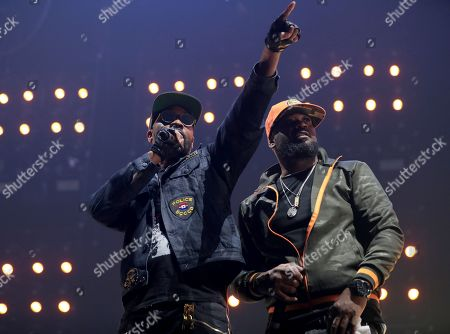 RZA and Ghostface Killah of Wu Tang Clan