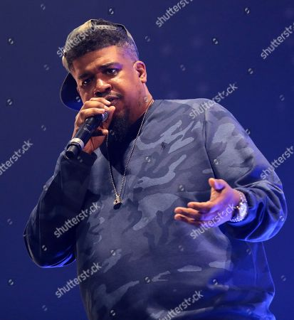 Editorial image of Gods of Rap tour, London, UK - 10 May 2019