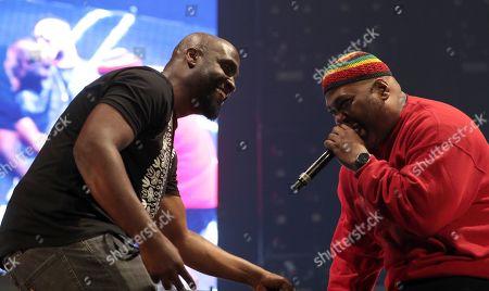Kelvin Mercer and Maseo of De La Soul