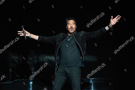 Lionel Ritchie seen at KAABOO Texas at AT&T Stadium, in Arlington, Texas