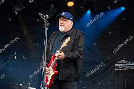 David Hidalgo of Los Lobos seen at KAABOO Texas at AT&T Stadium, in Arlington, Texas