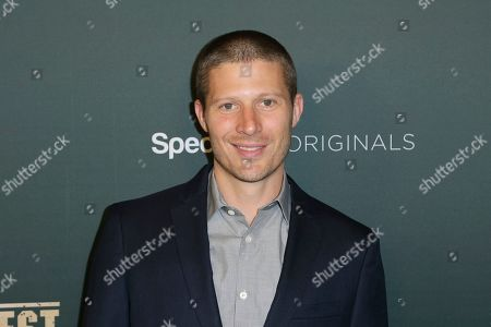 """Stock Photo of Zach Gilford arrives at the LA Premiere of """"L.A.'s Finest"""" at the Sunset Tower Hotel, in Los Angeles"""