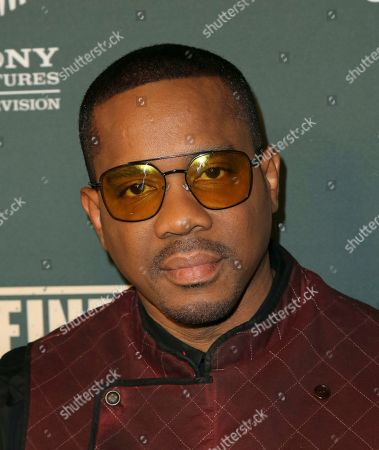 """Stock Image of Duane Martin arrives at the LA Premiere of """"L.A.'s Finest"""" at the Sunset Tower Hotel, in Los Angeles"""