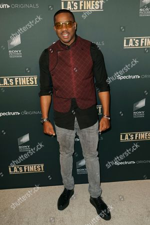"""Duane Martin arrives at the LA Premiere of """"L.A.'s Finest"""" at the Sunset Tower Hotel, in Los Angeles"""