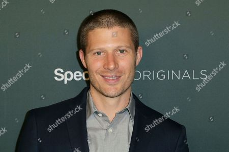 """Stock Image of Zach Gilford arrives at the LA Premiere of """"L.A.'s Finest"""" at the Sunset Tower Hotel, in Los Angeles"""