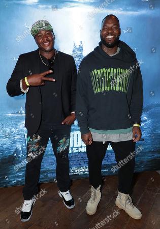 Desmond Mason and Martellus Bennett
