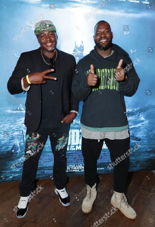 Editorial picture of 'Godzilla' film fan screening and dome lighting, Los Angeles, USA - 10 May 2019