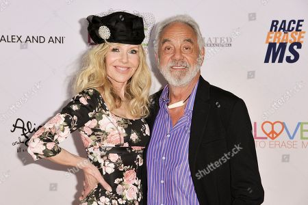 Shelby Chong and Tommy Chong. Shelby Chong, left, and Tommy Chong attend the 26th Annual Race to Erase MS Gala at the Beverly Hilton, in Beverly Hills, Calif