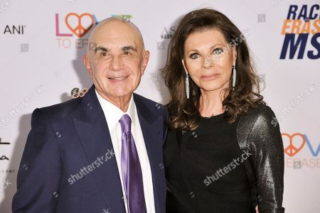 Stock Photo of Robert Shapiro, Linell Shapiro. Robert Shapiro, left, and Linell Shapiro attend the 26th Annual Race to Erase MS Gala at the Beverly Hilton, in Beverly Hills, Calif