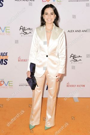 Stock Image of Ally Hilfiger attends the 26th Annual Race to Erase MS Gala at the Beverly Hilton, in Beverly Hills, Calif