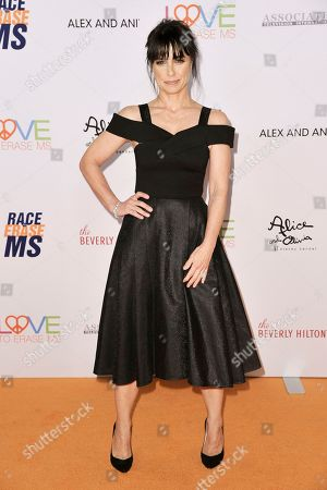 Constance Zimmer attends the 26th Annual Race to Erase MS Gala at the Beverly Hilton, in Beverly Hills, Calif