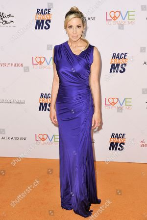 Camille Grammer attends the 26th Annual Race to Erase MS Gala at the Beverly Hilton, in Beverly Hills, Calif