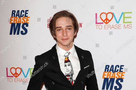 Michael Campion arrives for the 26th Annual Race To Erase MS Gala at The Beverly Hilton Hotel, in Beverly Hills, California, USA, 10 May 2019. The gala raises money for Race To Erase MS and its center without walls program.