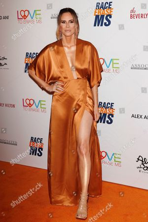 Keltie Knight arrives for the 26th Annual Race To Erase MS Gala at The Beverly Hilton Hotel, in Beverly Hills, California, USA, 10 May 2019. The gala raises money for Race To Erase MS and its center without walls program.