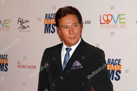 Stock Picture of Fernando Allende arrives for the 26th Annual Race To Erase MS Gala at The Beverly Hilton Hotel, in Beverly Hills, California, USA, 10 May 2019. The gala raises money for Race To Erase MS and its center without walls program.