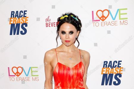 Stacy Bendet arrives for the 26th Annual Race To Erase MS Gala at The Beverly Hilton Hotel, in Beverly Hills, California, USA, 10 May 2019. The gala raises money for Race To Erase MS and its center without walls program.