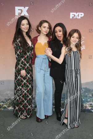 Mikey Madison, Hannah Alligood, Pamela Adlon, Olivia Edward