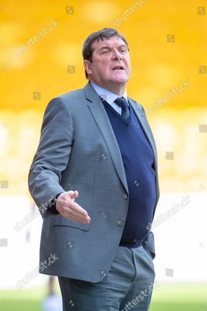 Tommy Wright, manager of St Johnstone FC during the Ladbrokes Scottish Premiership match between St Johnstone and Motherwell at McDiarmid Stadium, Perth
