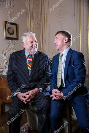 Terry Waite and John McCarthy meet for the first time in over 20 years
