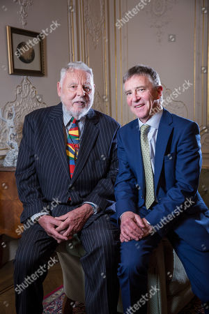 Editorial picture of Terry Waite meeting with John McCarthy at the Lebanese Ambassador's residence, London, UK - 09 May 2019