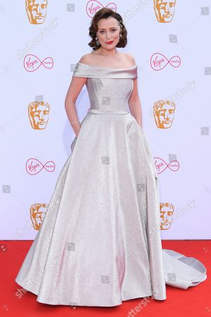 Editorial image of British Academy Television Awards, Fashion Arrivals, Royal Festival Hall, London, UK - 12 May 2019