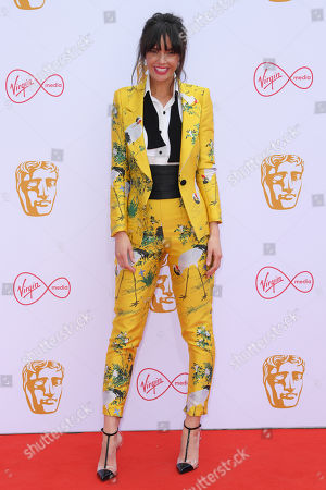 Editorial picture of British Academy Television Awards, Fashion Arrivals, Royal Festival Hall, London, UK - 12 May 2019