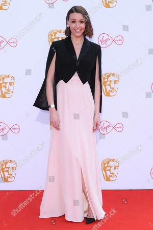 Editorial photo of British Academy Television Awards, Fashion Arrivals, Royal Festival Hall, London, UK - 12 May 2019