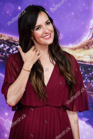 German TV host Johanna Klum attends the Aladdin gala screening in Berlin, Germany, 11 May 2019. Aladdin screens in German cinemas from 23 May 2019.