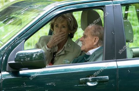 Stock Photo of Lady Brabourne and Prince Philip