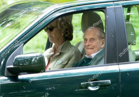 Stock Image of Lady Brabourne and Prince Philip