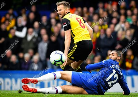 Editorial picture of Chelsea v Watford, Premier League, Stamford Bridge, London, UK, Football - 5th May 2019