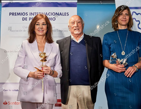 Editorial picture of 'Club Internacional De Prensa' Awards, Madrid, Spain - 09 May 2019