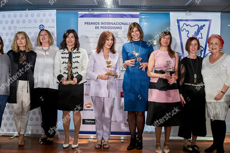 Editorial photo of 'Club Internacional De Prensa' Awards, Madrid, Spain - 09 May 2019