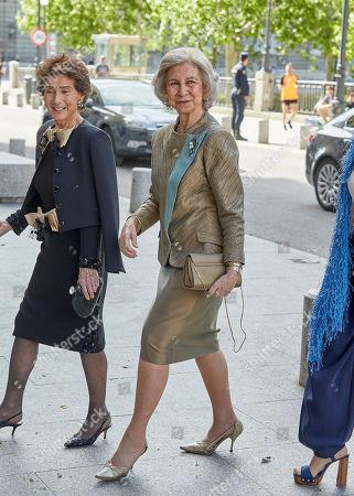Paloma O'Shea, Former Queen Sofia and Ana Patricia Botin
