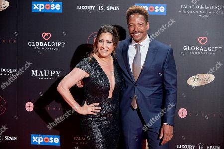 Maria Bravo and Gary Dourdan