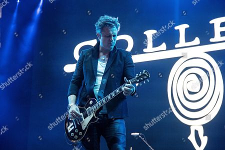 Dean Roland of Collective Soul seen at KAABOO Texas at AT&T Stadium, in Arlington, Texas