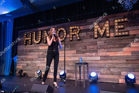 Stock Image of Heather McDonald seen at KAABOO Texas at AT&T Stadium, in Arlington, Texas
