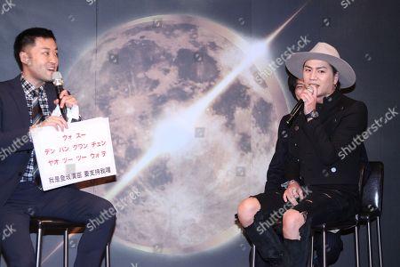 Editorial photo of Tosaka Hiroomi promotes his concert, Taipei, Taiwan - 09 May 2019