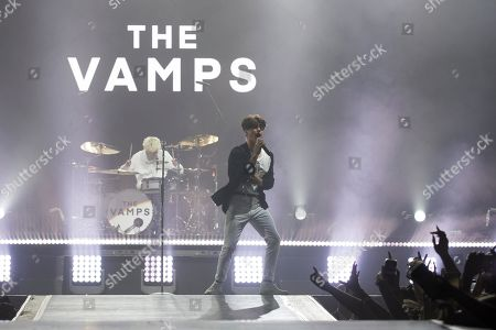 The Vamps - Tristan Evans and Brad Simpson