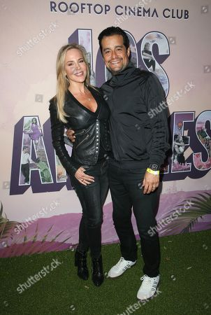 Stock Image of Julie Benz, Rich Orosco