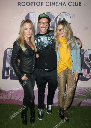 Julie Benz, Darren Stein and Rebecca Gayheart