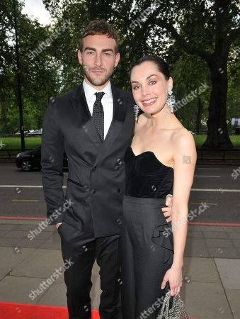 Stock Photo of Tom Austen and Poppy Corby-Tuech