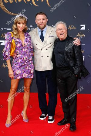Jacqui Ainsley, Guy Ritchie and Alan Menken