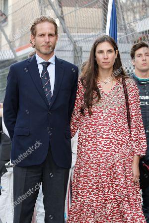 Andrea Casiraghi with his wife Tatiana Santo Domingo