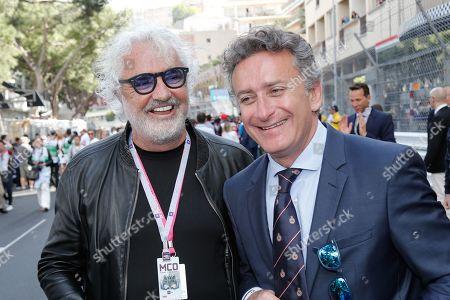 Flavio Briatore and Alejandro Agag