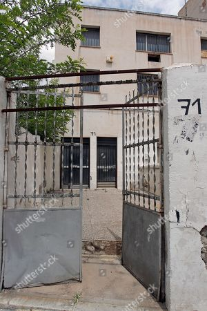 View of an abandoned shoe factory in Elda, Spain, 12 May 2019. The factory, now abandoned, became famous back in 2002 for making Cartier's 1,000,000 sandal with 464 diamonds for Mexican actress Laura Elena Harring starring David Lynch's Mulholland Drive. Now, 17 years later, it has become an illegal marijuana plantation that was dismantled by the Spanish National Police that seized almost 500 plants.