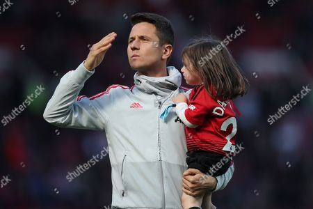 Ander Herrera of Manchester United at the end of the match